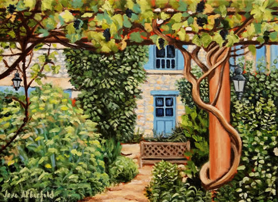 Coux-et-Bigaroque Dordogne Vines Le Chambellan - France Art Gallery