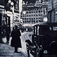 Regent Street – London by Night Art Gallery
