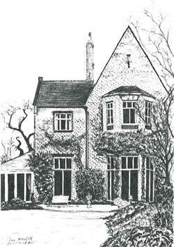 Commission Artwork - House Sketch