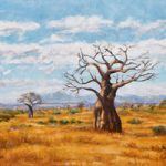 Baobab Trees Soutpansberg Limpopo – Oil Painting – South Africa Art Gallery