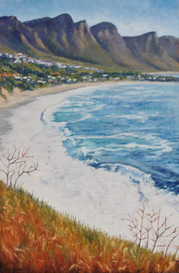 Camps Bay Cape Town Oil Painting - South Africa Art Gallery