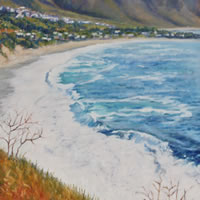Camps Bay Cape Town Oil Painting – South Africa Art Gallery