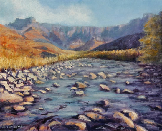 Drakensberg Amphitheatre - Oil Painting - South Africa Art Gallery
