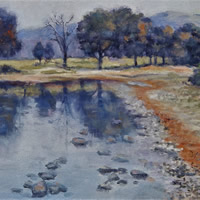 Lake District Ullswater in Autumn – Landscape Oil Painting – English Art Gallery