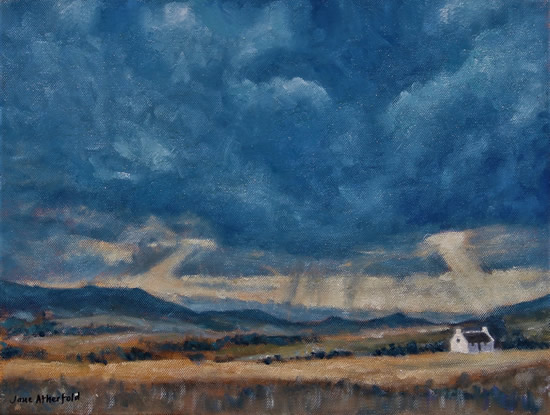 Little White House in the Great Karoo Oil Painting - South Africa Art Gallery