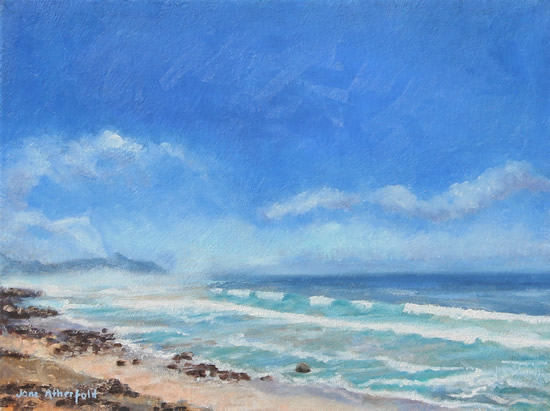 Scarborough Beach Cape Town Oil Painting - South Africa Art Gallery