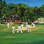 Weybridge Cricket Club Painting